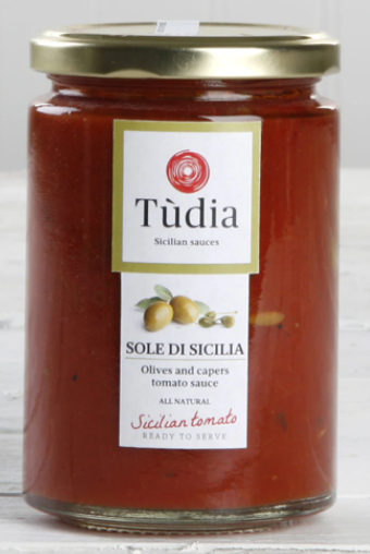 Tudia Olives & Capers Tomato Sauce