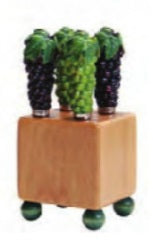 Mini Block with Spreaders - Green & Purple Grapes