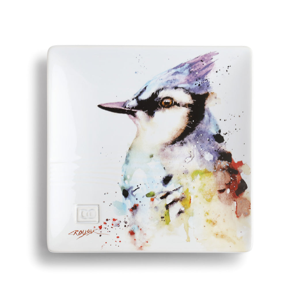 Blue Jay Snack Plate