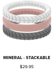 Groove Ring Stackable Air Mineral