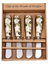 Spreader - Set of 4 - Olives