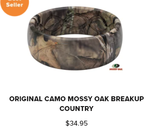 Groove Ring Camo Mossy Oak Breakup