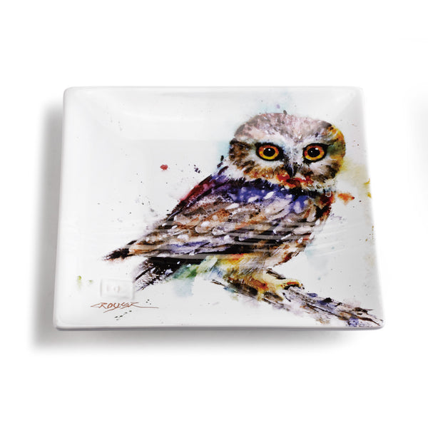 Owl Snack Plate