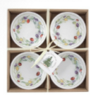 Small Round Bowls Olive wreath set