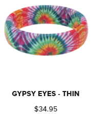 Groove Ring Thin Aspire Gypsy Eyes