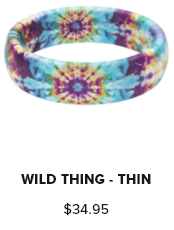 Groove Ring Thin Aspire Wild Thing