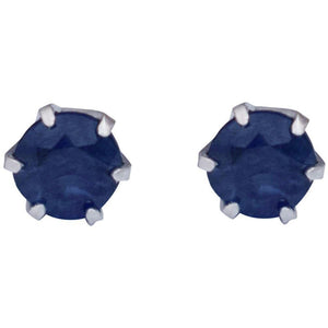 PLATINUM SAPPHIRE EARRINGS - G&S Diamonds