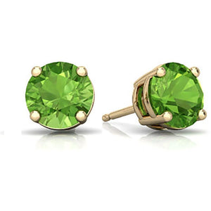 PERIDOT EARRINGS FOR WOMEN - G&S Diamonds