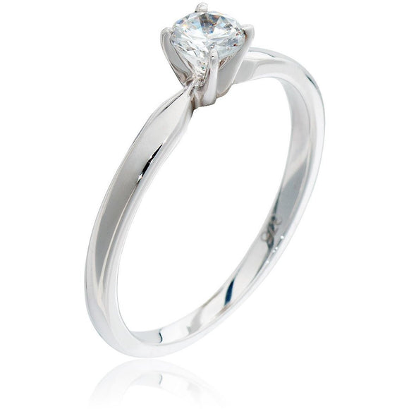 1/2 CARAT SOLITAIRE DIAMOND RING FOR WOMEN - G&S Diamonds