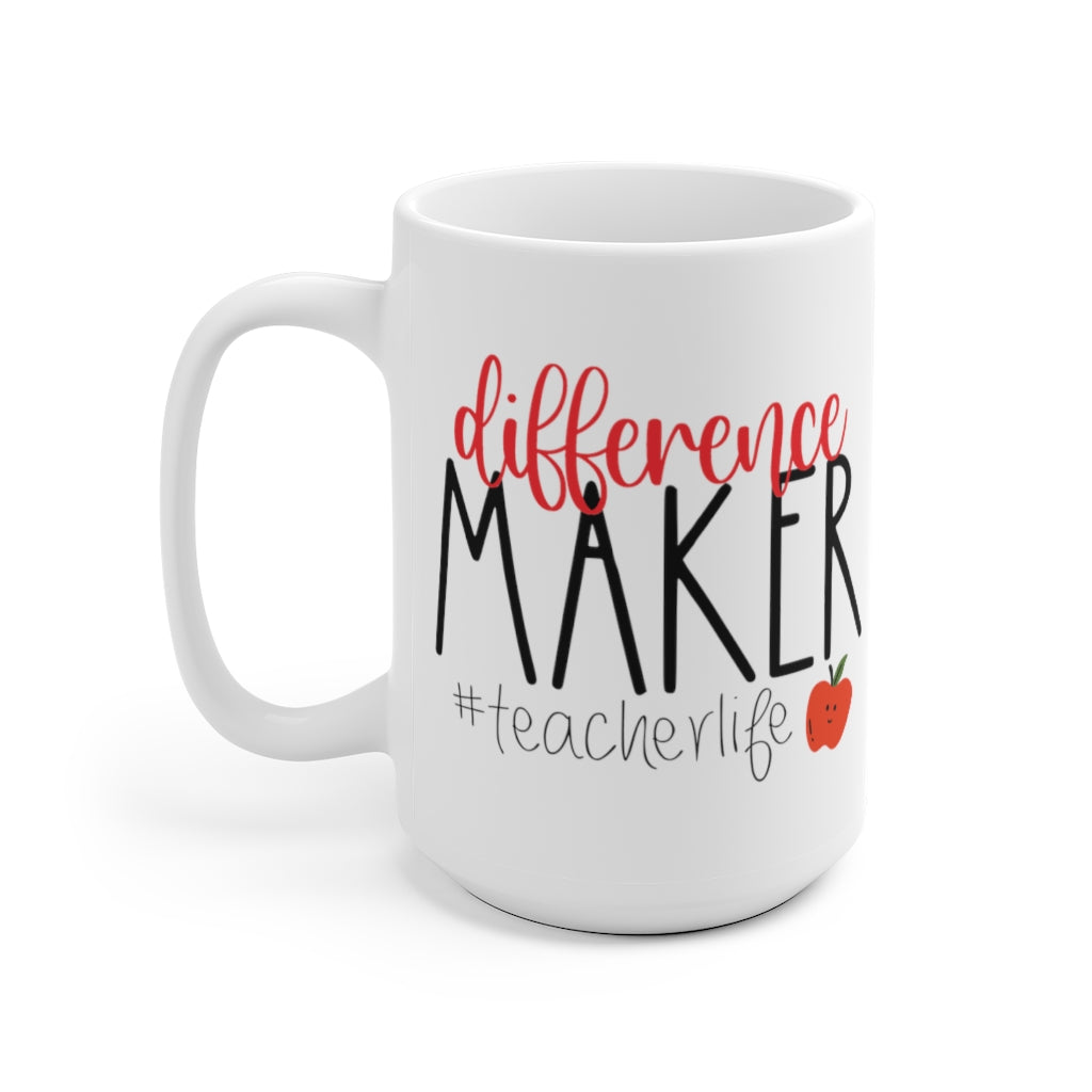 Difference Maker Teacher Mug