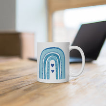 Load image into Gallery viewer, Social Distancing Unicorn Ceramic Mug
