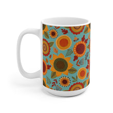 Load image into Gallery viewer, Colorful Fall Sunflower Mug