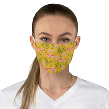 Load image into Gallery viewer, Peachy Floral Fabric Face Mask