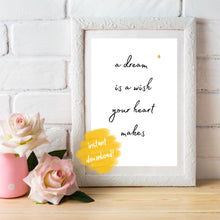 Load image into Gallery viewer, Disney Quote Wall Print, Digital Wall Art Print