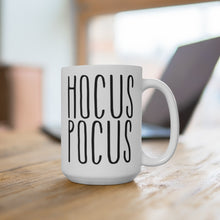 Load image into Gallery viewer, HOCUS POCUS Bold Print Halloween Mug
