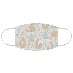 Cute Forest Friends Fabric Face Mask