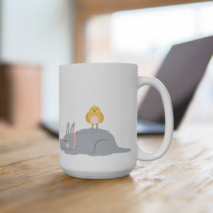 Good Mood Dog Ceramic Mug