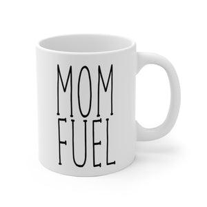 MOM FUEL Bold Print Mug