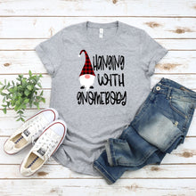 Load image into Gallery viewer, Hanging with Gnomebody Unisex Jersey Short Sleeve Tee