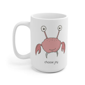 Choose Joy Crabby Mug