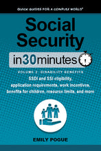 Load image into Gallery viewer, Social Security In 30 Minutes, Volume 2: Disability Benefits