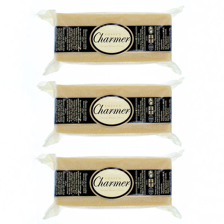 Sussex Charmer Cheese 500g x 3