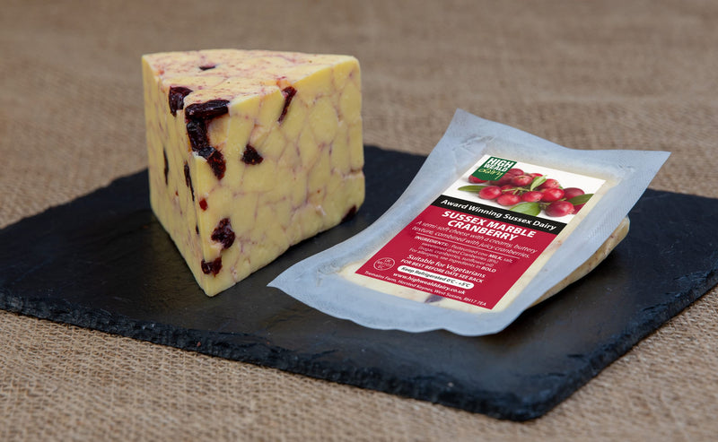 CRANBERRY MARBLE CHEESE