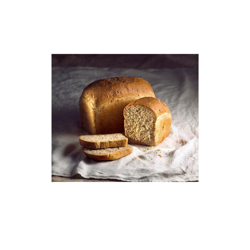 Bread Wholemeal Tin Loaf (dome) unsliced 800gr