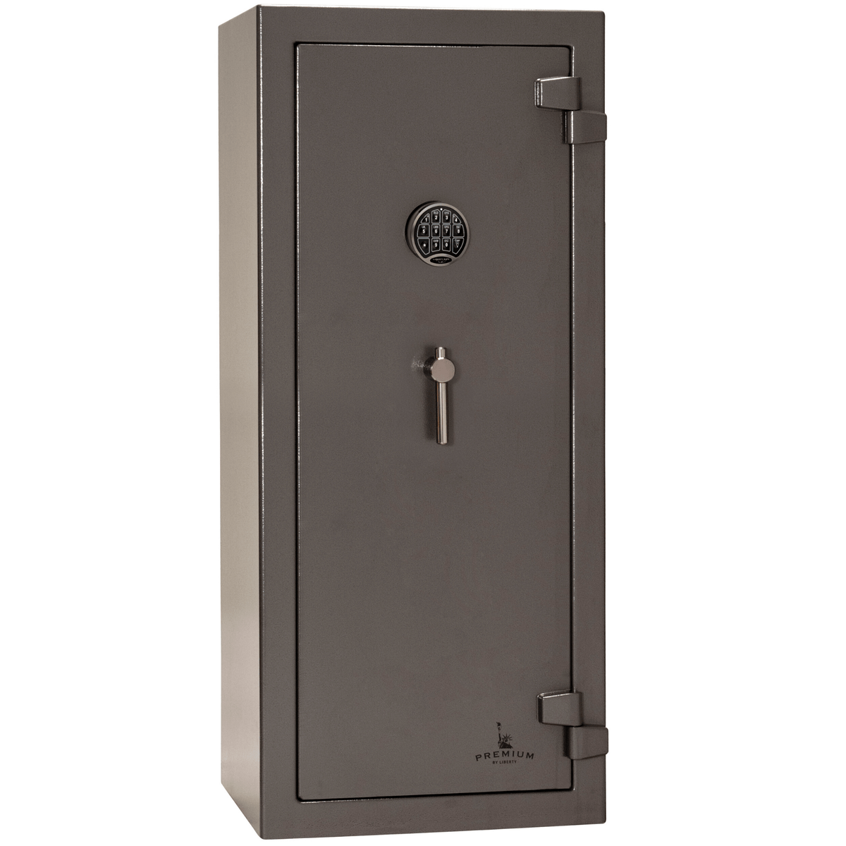 "Premium Home | 17 | 90 Minute Fire Protection | Gray | Electronic Lock | Dimensions: 59""(H) x 24""(W) x 22.5""(D)"