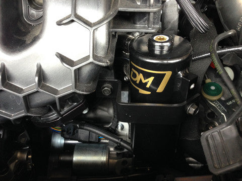 Damond Motorsports Focus ST Stage 1 Location 1 Oil Catch Can Kit Install Guide