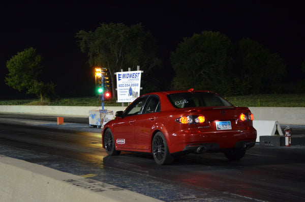 Damond Motorsports sets the Stock Turbo Mazdaspeed 1/4 Mile Record