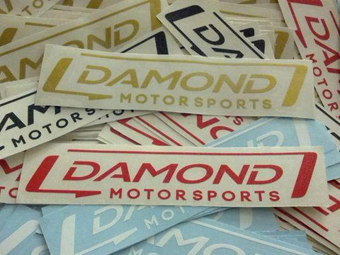"Damond Motorsports 6"" Decal"