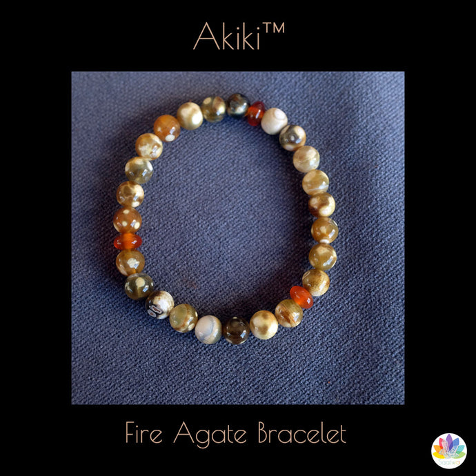 Fire Agate For Healing and Wellness
