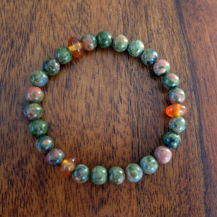 Unakite For Fertility And Natural Love Making