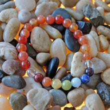 Load image into Gallery viewer, Espri™ Sacral Chakra Bracelet - Elastic carnelian crystals bracelet, customizable in length and bead size - Free jewelry pouch - Saatwa