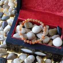 Load image into Gallery viewer, Akiki™ Red Aventurine Bracelet for Luck • Abundance • Confidence - Elastic - Natural crystals - Customizable - Free jewelry pouch - Saatwa