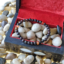 Load image into Gallery viewer, Akiki™ Bloodstone Bracelet for Vitality • Alive • Revitalize - Elastic - Natural crystals - Customizable - Free jewelry pouch - Saatwa