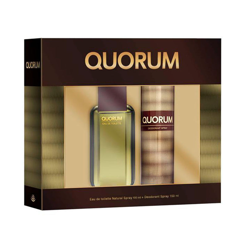 Quorum ESTUCHE 2 pzs. - Expo Perfumes Outlet