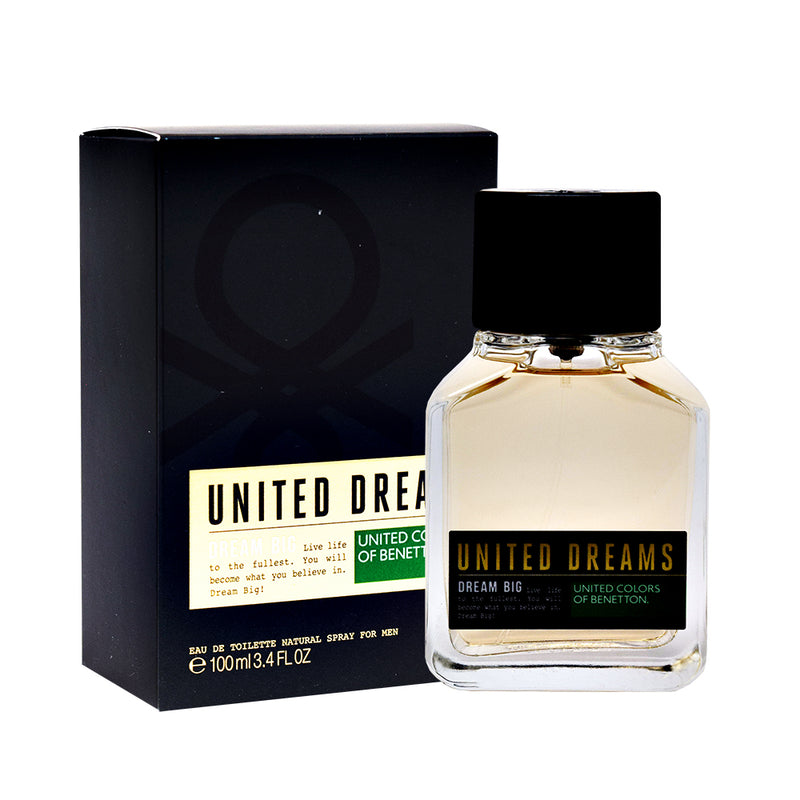 United Dreams Dream Big Men 100ml EDT - Expo Perfumes Outlet