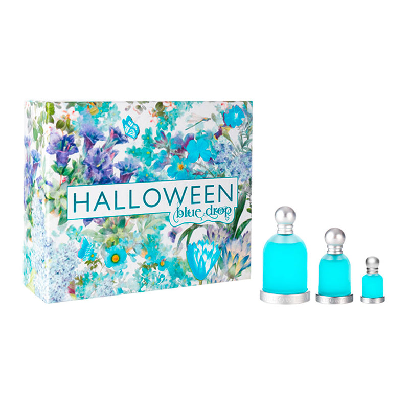 Halloween Blue Drop ESTUCHE 3pzs EDT - Expo Perfumes Outlet