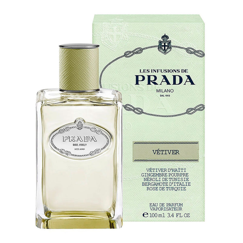 Prada Les Infusion Vetiver  100 ml EDP - Expo Perfumes Outlet