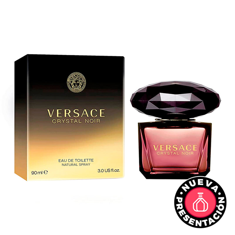 Versace Crystal Noir 90ml - Expo Perfumes Outlet