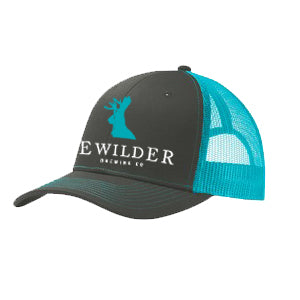 Bewilder Trucker Hat - Neon Blue