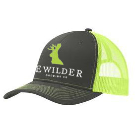 Bewilder Trucker Hat - Neon Yellow