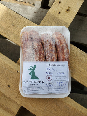 Raw Boerwors  - Raw Sausage 5# Minimum
