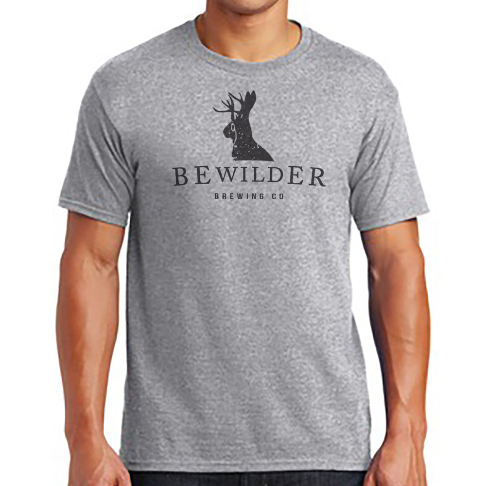Bewilder Light Grey T-Shirt