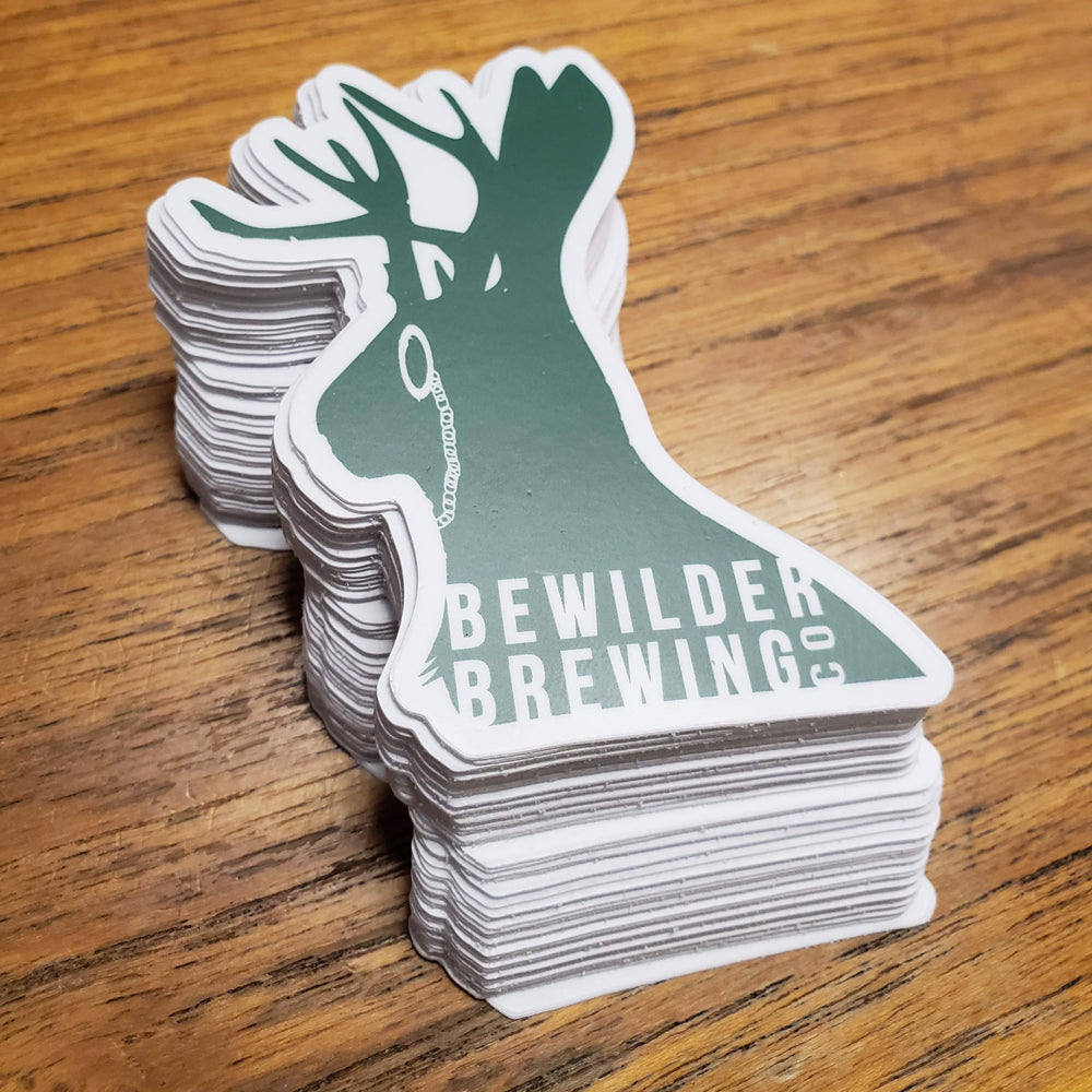 Bewilder Brewing Co. Sticker