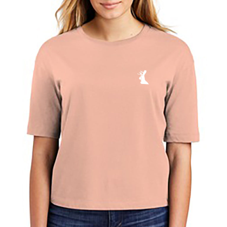 Bewilder Embroidered Woman's Cut T-Shirt