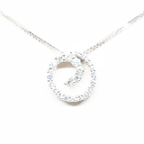 Swirl Of Life Pendant With 0.69ct Round Brilliant Cut Diamonds