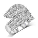 14K White Gold 1 1/2 Ct.Tw. Diamond Fashion Band
